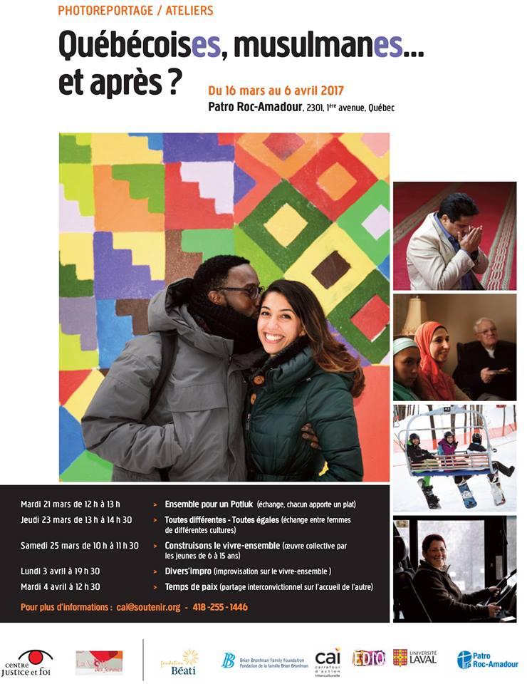 Affiche : exposition QuébécoisEs, musulmanEs...</body></html>