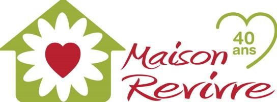 Affichette sur fond blanc : forme de petite maison verte lime, avec un coeur rouge comme une fleur de style pissenlit.</body></html>