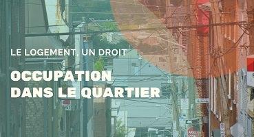 Affichette : photo d'une rue relativement étroite urbaine, d'habitation, au travers un filtre turquoise et orange.</body></html>