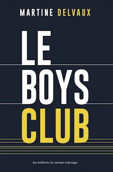 Page couverture du livre : le titre, en grandes lettres blanches, sur fond bleu marine.