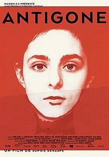 Miniature de l'affiche : sur fond rouge flou, on discerne le visage d'une jeune femme le regard serein et droit devant.