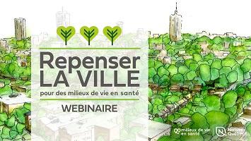 Affichette : jolie dessin de ville recouverte d'arbres verts.</body></html>