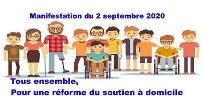 Affichette sur fond blanc : dessin de 12 personnes, femmes, hommes, jeunes, moins jeunes, parfois handicaps visibles, dont deux en fauteuil roulant.
