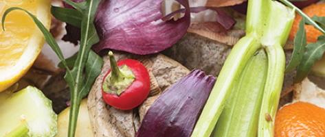 Photo de légumes et fruits vus de près, non coupés et placés pêle-mêle.