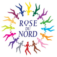 logo : des personnages multicolores, main dans la main, forment un cercle
