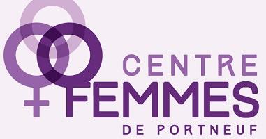 Logo : trois cercles mauves juxtaposés, comme en triangle : un des cercles est aussi le symbole de la femme.