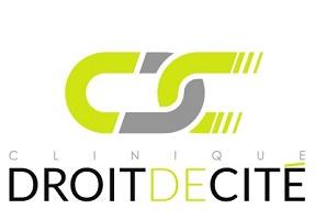 Logo : deux maillons d'une chaîne ; une partie couleur jaune-vert ressemble à un c.