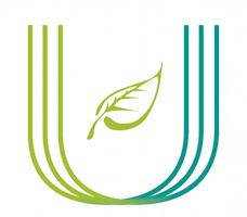 Logo de l'UniVert Laval : ressemble à la lettre U mais en triple. Un côté de la lettre U est vert olive, l'autre vert bleu.</body></html>