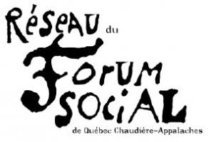 Portrait de Réseau du Forum social de Québec Chaudière-Appalaches